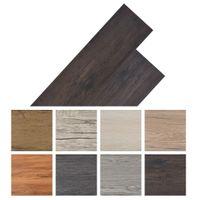 Panele podłogowe z PVC, 5,26 m², ciemnoszary dąb