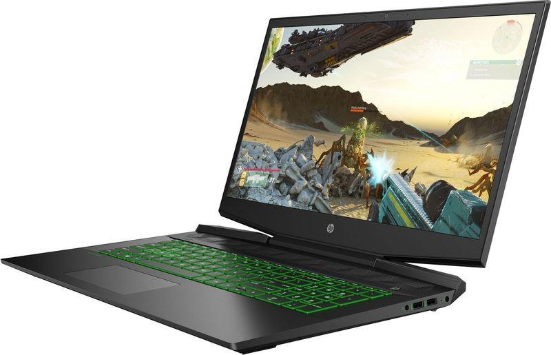 HP Pavilion Gaming 17 FullHD IPS Intel Core i7-9750H 6-rdzeni 8GB 256GB SSD NVMe 1TB HDD NVIDIA GeForce GTX 1650 4GB na Arena.pl