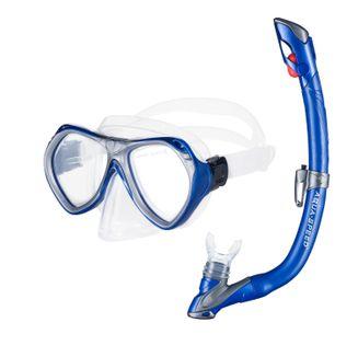 Zestaw do nurkowania AURA + EVO Kolor - Zestaw - Aura+Evo - 11 - niebieski