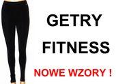 LEGINSY SPORTOWE getry legginsy fitness dam. XXL