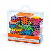 Marioinex Klocki Wafle Mini, 140 szt, kreatywne