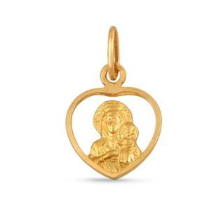 medalik Matki Boskiej Częstochowskiej złoto 585/14k