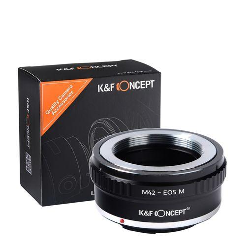 ADAPTER M42 na Canon EOSM EOS M EF-M Jakość K&F Concept na Arena.pl