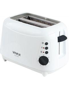 Opiekacz Toster Vivax TS900 Biały, 900W, Odmrażanie