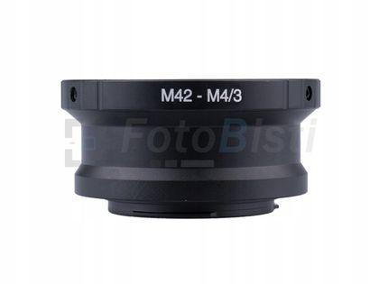 ADAPTER redukcja M42 na micro M4/3 M43 klucz