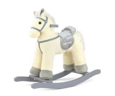 Koń na biegunach PePe Beige Milly Mally 2202