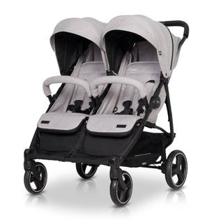 EasyGo Domino wózek dla bliźniąt spacerowy bliźniaczy PEARL