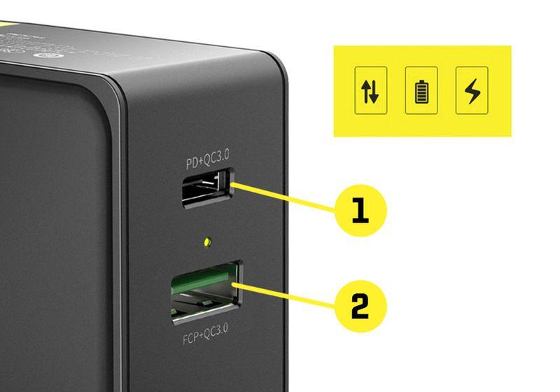 ROCK Ładowarka USB-C Quick Charge + KABEL IPHONE 7 8 X iPad zdjęcie 5