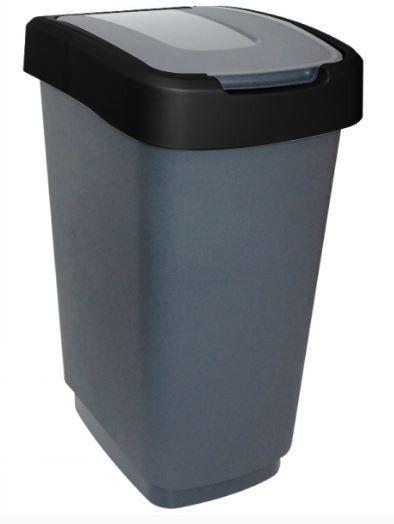 POJEMNIK NA ODPADY KLIP 25L CZARNY Kosz na śmieci zdjęcie 1