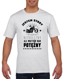 Koszulka męska STARY MOTOR MAM POTERZNY L