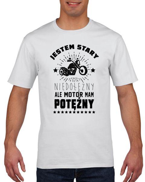 Koszulka męska STARY MOTOR MAM POTERZNY L na Arena.pl