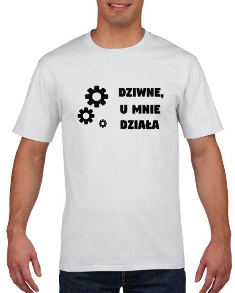 Koszulka męska DZIWNE U MNIE DZIA?A M na Arena.pl