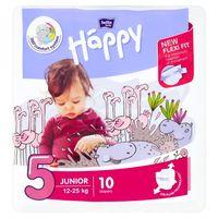 Bella Baby Happy Pieluszki Jednorazowe  Happy - 5 Junior 12-25 Kg  - 10 Sztuk