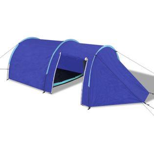 Namiot 4 osobowy granatowy / jasnoniebieski VidaXL
