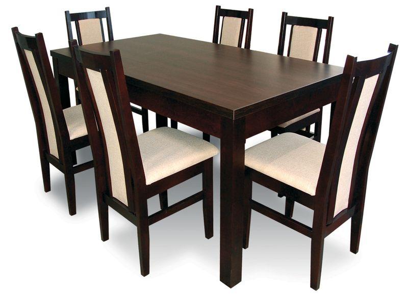 wenge krzesła i stoły
