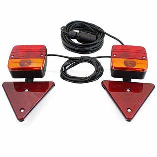 16636 Tylnie oświetlenie do przyczepy samochodowej 7 pinowe złącze