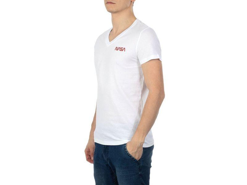 T-shirt Nasa V Neck Basic-Worm White NASA-T-SHIRT30 M na Arena.pl
