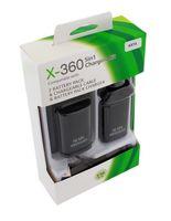 ZESTAW XBOX 360 ŁADOWARKA 2 AKUMULATORY BATERIE + KABEL USB