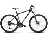 """Rower Kross HEXAGON 6.0 27,5"""" czarno-grafitowo-czerwony mat - r. 17"""""""