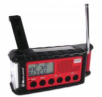 Midland ER300 RADIO ALARMOWE AM/FM OUTDOOR POWER BANK SOLAR