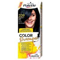 Palette    Color Shampoo -  Farba Do Włosów -  Granatowa Czerń - 339 (1-1)