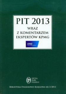 PIT 2013 z komentarzem ekspertów KPMG