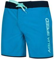 Spodenki kąpielowe męskie Aqua-Speed Evan niebiesko czarne kol.42 2XL