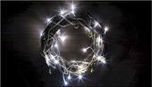 Lampki świąteczne 30 LED na baterie 3m zimny biały Joylight