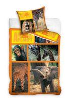 Komplet pościeli 160x200 Dzikie Zwierzęta