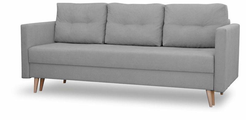Kanapa rozkładana z funkcją spania, skandynawska sofa Säffle zdjęcie 3