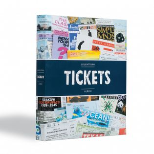 Klaser na 156 biletów LEUCHTTURM