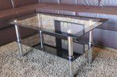 Stolik kawowy ława szklana hartowane szkło stoliki szklane Rattanland