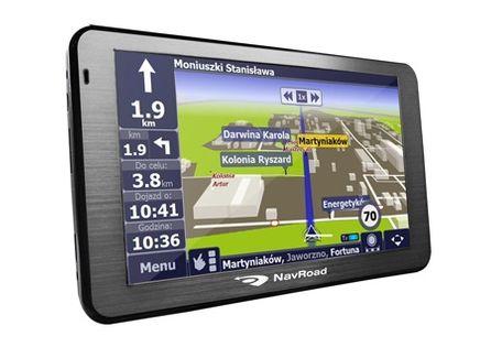 GPS Navroad DRIVE HD 5'' +CAŁY ŚWIAT 4GB ODBLOKOWA