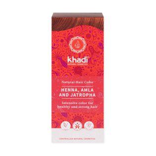 Henna do Włosów z Amlą i Jatrophą - Khadi