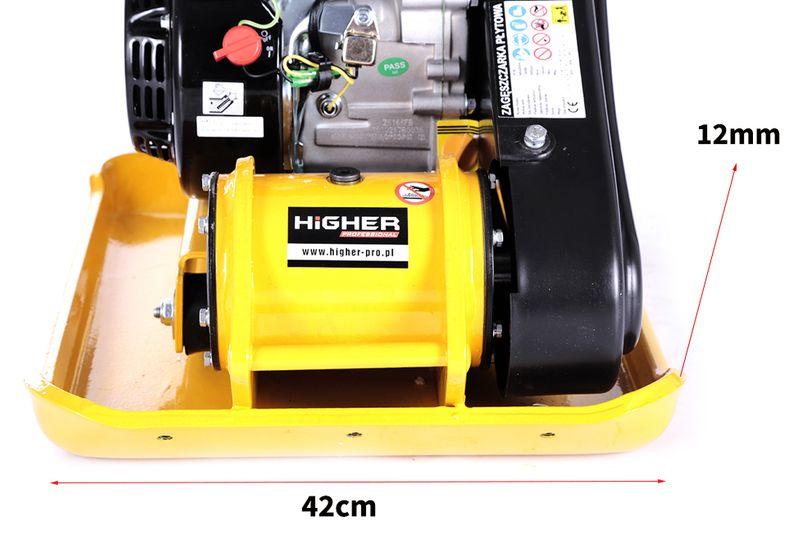 Zagęszczarka płytowa ubijak HIGHER 90kg o mocy 6,5KM zdjęcie 3