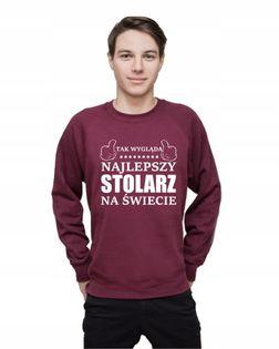 Bluza męska TAK WYGLĄDA NAJLEPSZY STOLARZ XL
