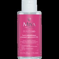 MIYA COSMETICS myBEAUTYlab Tonik rozświetlający z kwasem glikolowym 5% 150ml