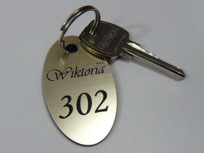 numerki zawieszki do szatni breloki do kluczy hotelowych