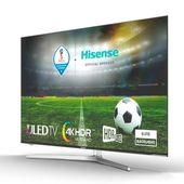 "Smart TV Hisense H55U7A 55"" Ultra HD 4K ULED WIFI Srebrzysty"