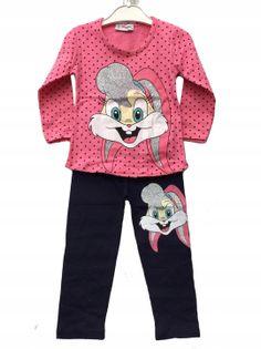 Komplet bluzka + legginsy Lola, bawełna roz.80/86