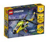 LEGO Creator 3w1 - Przygoda z helikopterem 31092