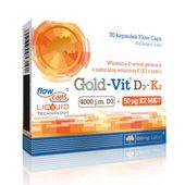 OLIMP Gold-Vit D3 + K2 30kap WITAMINA 4000iu MK-7