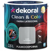 Dekoral Clean & Color 2,5L SZARY OŁÓWKOWY