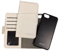 Portfel na telefon + etui  MOC Mag Wallet White