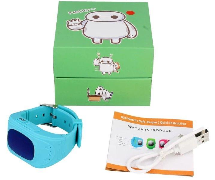 Zegarek Smartwatch G36 dla dzieci z lokalizatorem GSM SIM SOS T189 zdjęcie 11