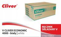 Ręcznik papierowy Cliver Economic biały 4000szt.