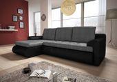 Narożnik Santi II w materiale zmywalnym - kanapa, sofa, łóżko, rogówka zdjęcie 6