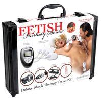 Zestaw Do Stymulacji Elektrycznej - Fetish Fantasy Deluxe Shock Therapy Travel Kit
