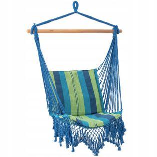 Krzesło Brazylijskie Hamak Wiszący Fotel Huśtawka