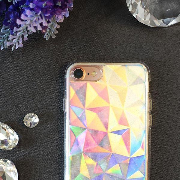Ringke Air Prism Glitter błyszczące żelowe etui pokrowiec 3D iPhone 8 / 7 szary (APAP0010-RPKG) zdjęcie 4